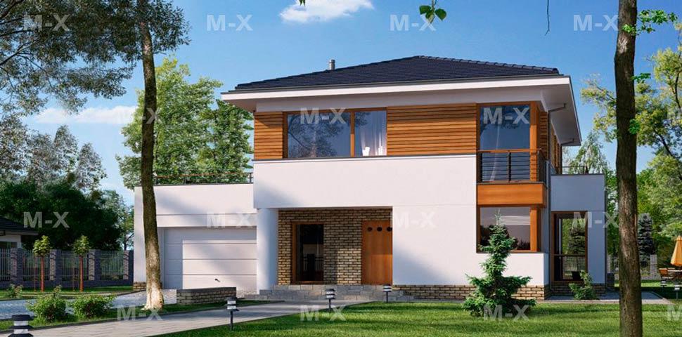 Готовый проект двухэтажного дома со все документацией по строительству