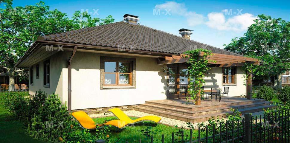 Проект маленького частного дома под ключ от Метроплекса