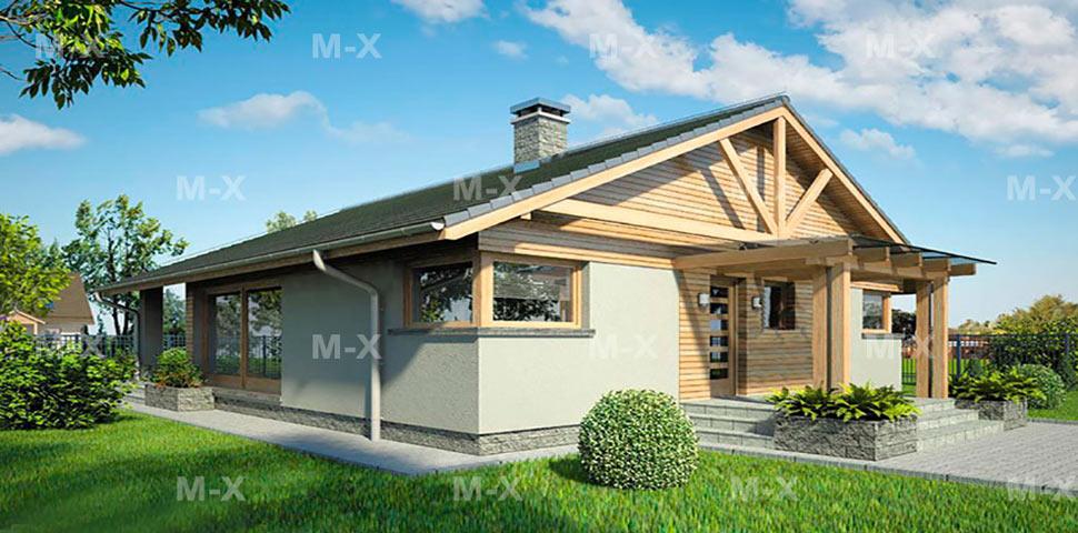 Готовый проект для строительства небольшого дома
