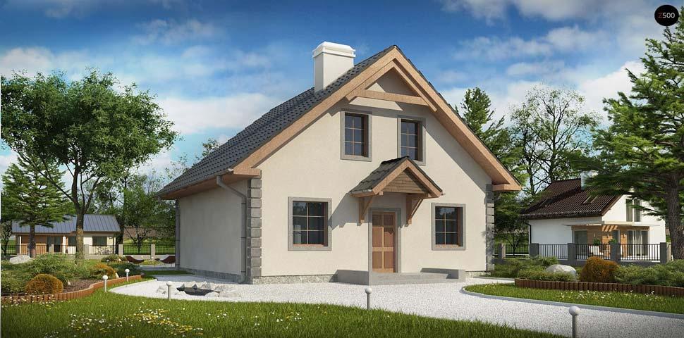 Проект небольшого дома с разрешительной документацией по строительству