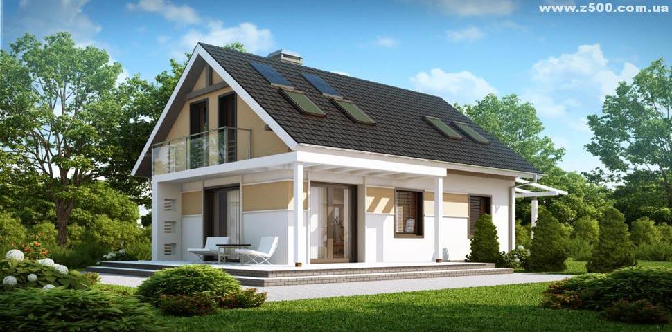 Экономичный небольшой уютный дом от Метроплекс