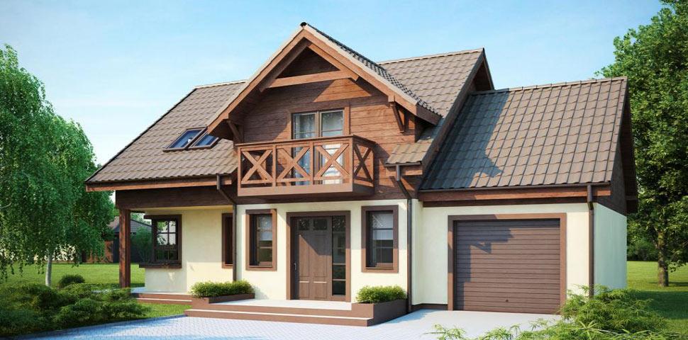Комфортный и функциональный проект дома от Метроплекс