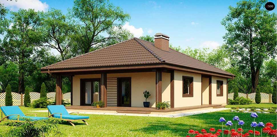 Проект недорогого одноэтажного дома от Метроплекс